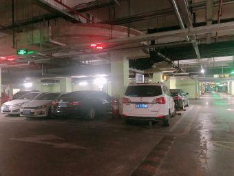 常州月星环球港停车场