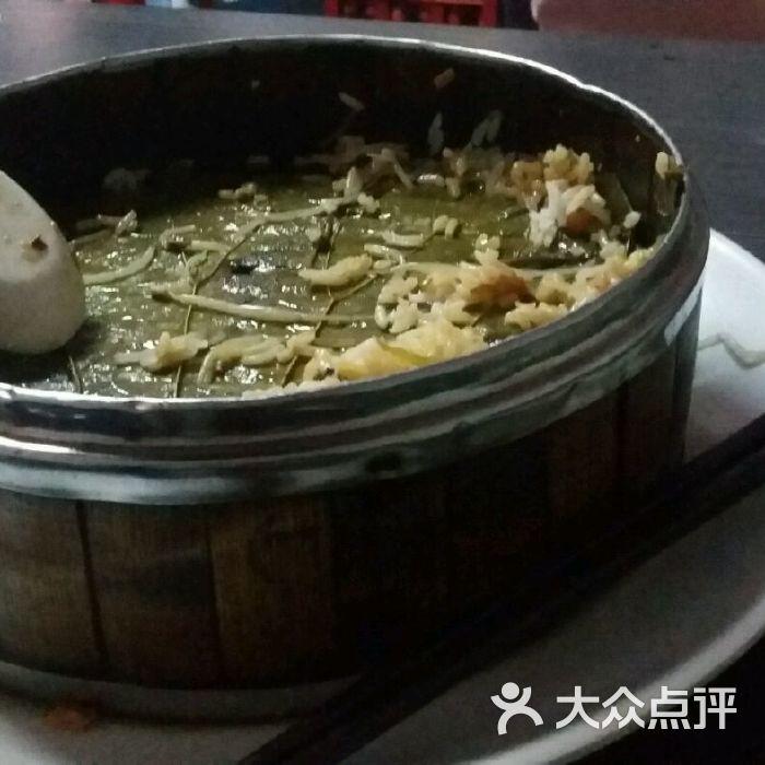 乐凤岛荷叶蒸笼饭图片