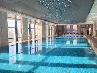 银川富力万达嘉华酒店游泳池