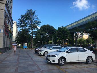 厦门梅园酒店·停车场
