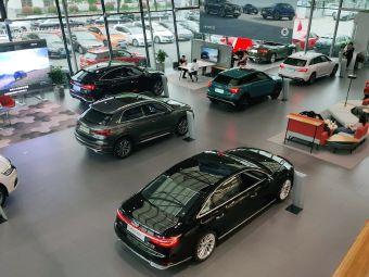 明都凯歌奥迪4S店AudiSport