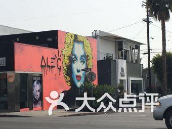 粉红墙(melrose avenue)