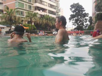 畔山林语游泳池