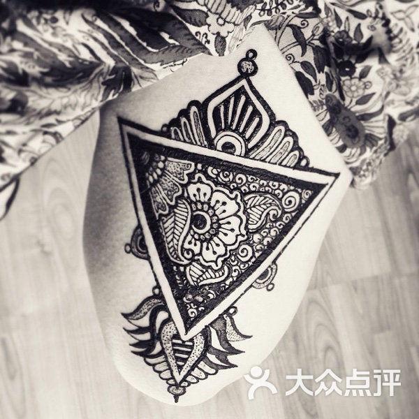 尚木堂-印度汉娜手绘-手绘纹身图片-南京丽人-大众
