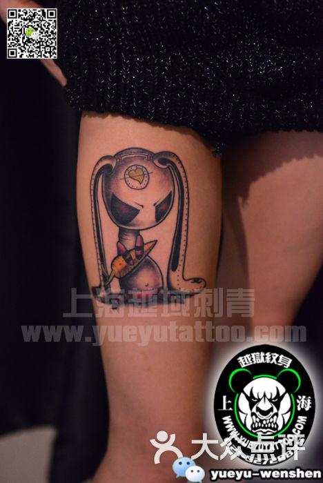 越域刺青(中国纹身名店)兔子纹身图案图片 - 第3842张