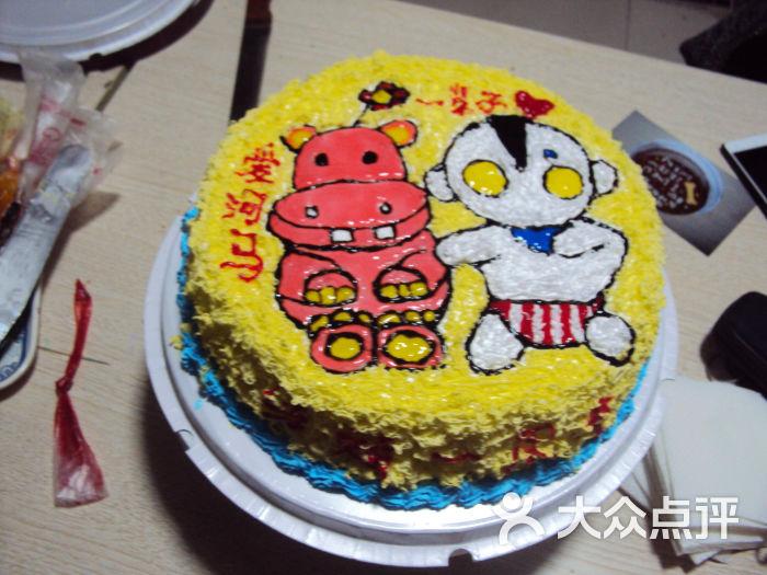 自制蛋糕图案好看