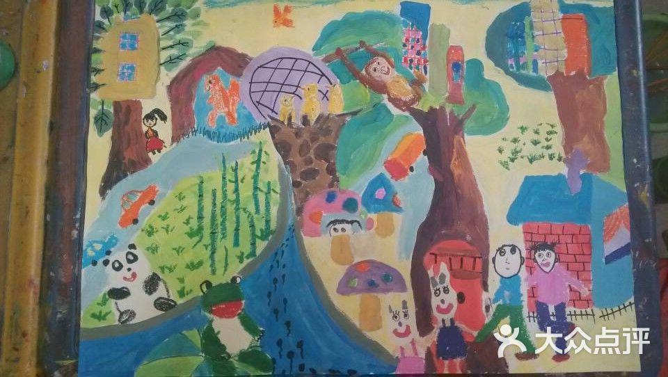 图形拓展班-七彩星空儿童美术创意园-上海结婚
