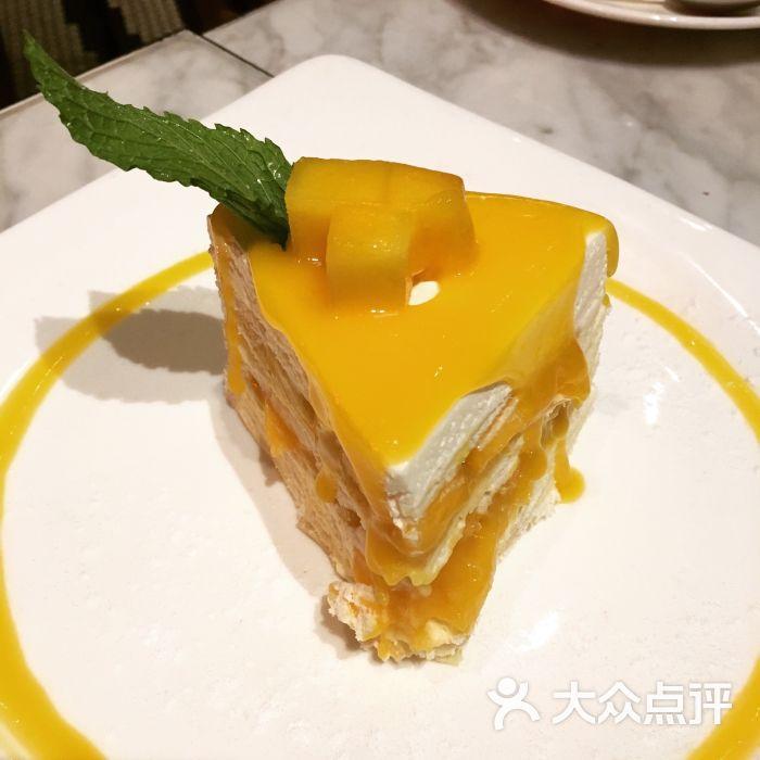 灰狗·潮泰意·餐厅(iapm店)-芒果千层蛋糕图片-上海美食-大众点评网