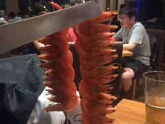 拉蒂娜Latina巴西烧烤音乐餐厅(陆家嘴店)的烤虾