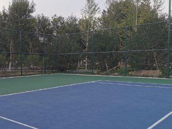 医学校区网球场
