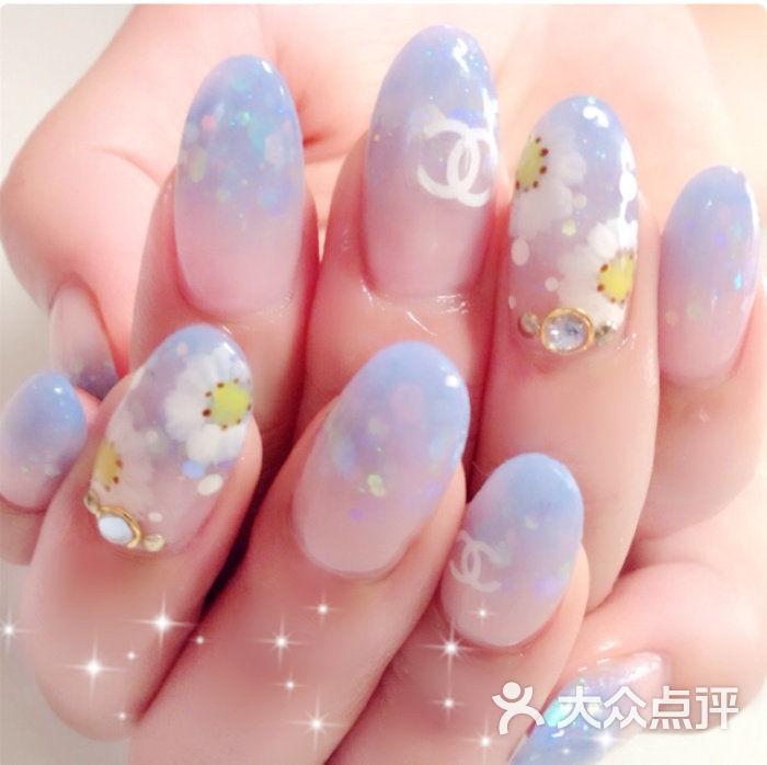 丽芷轩美甲(三里屯店)-小雏菊手绘美极啦!图片-北京