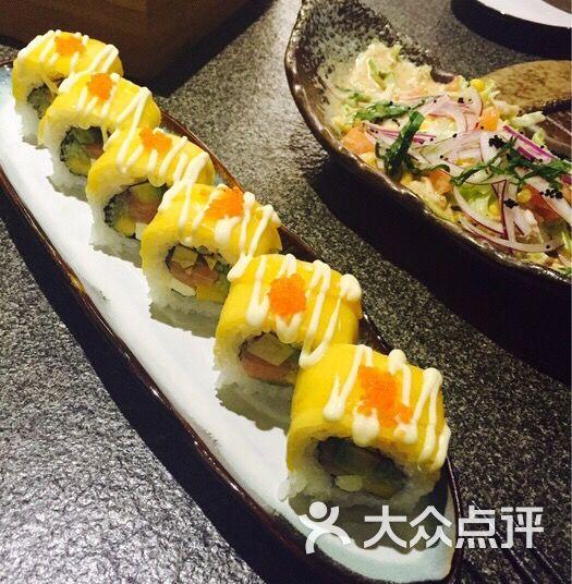 隐鮨寿司-芒果三文鱼寿司图片-长沙美食-大众点评网