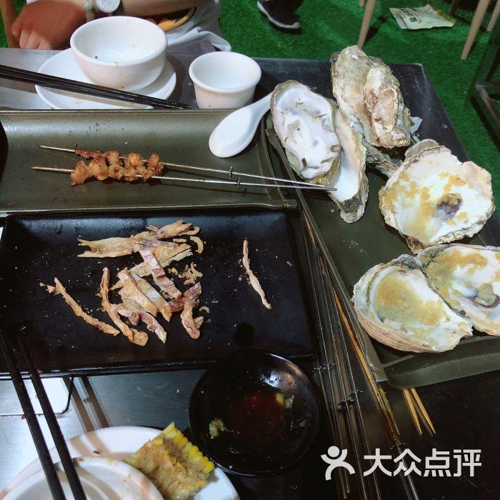 西遇烤吧:[神坛]老板位于二手车交易市场里.北京环境美食店面深圳图片