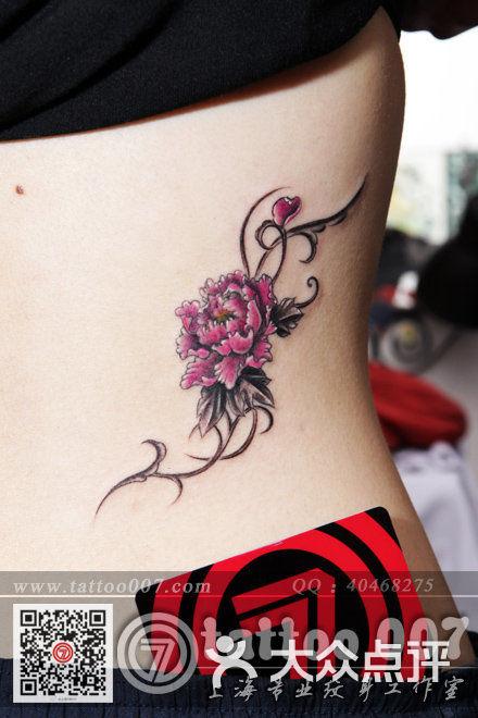 007 tattoo studio(上海007纹身)牡丹花设计纹身图片 - 第929张