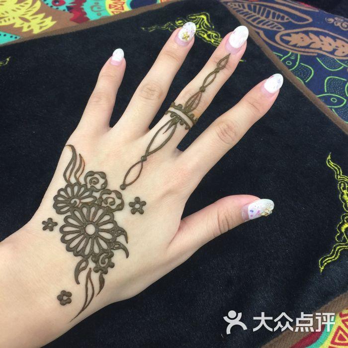 赋美·印度海娜手绘纹身(北大街店)-图片-西安丽人