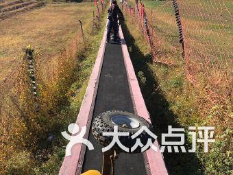 天津蓟县盘山滑草场