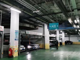 哈医大一院停车场