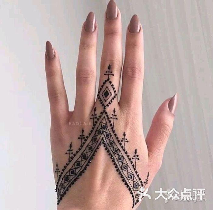 印度海娜手绘纹身图片 - 第22张