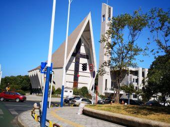 天主教堂-停车场