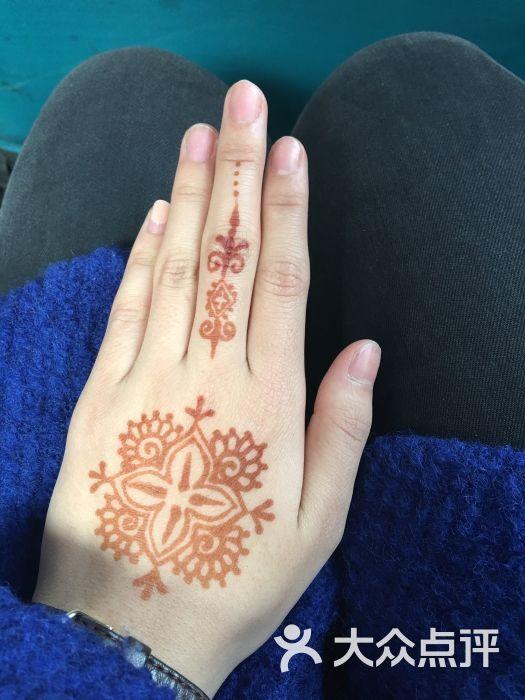 赋美·印度海娜手绘纹身(东大街店)--其他图片-西安