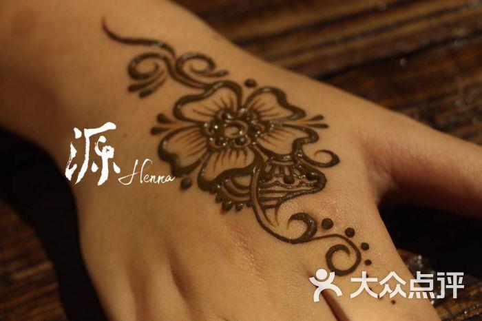 mandala印度海娜手绘手绘图片 - 第3张