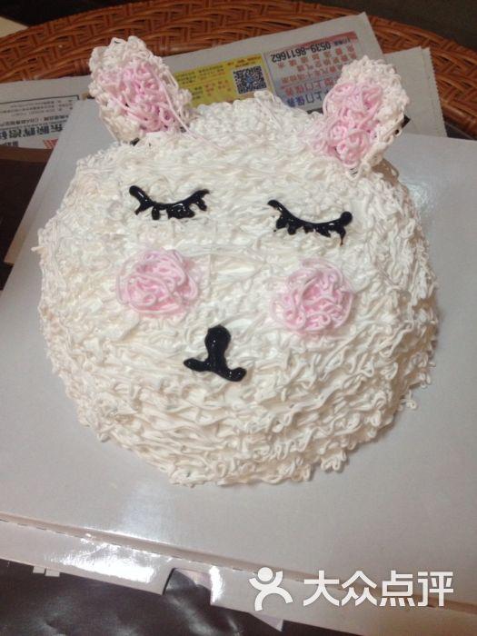 老板很好 做的蛋糕也很好吃 可爱的小兔子