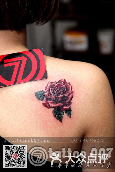 007 tattoo studio(上海007纹身)玫瑰花纹身图片 - 第992张