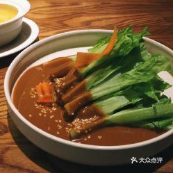 柴悦里老川菜的麻酱青笋尖好不好吃 用户评价口味怎么样 成都美食麻酱青笋尖实拍图片 大众点评