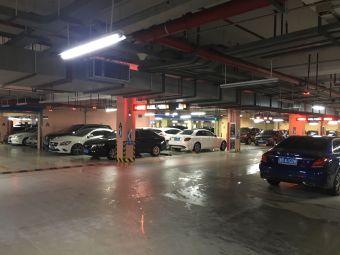 宁波文化广场停车场