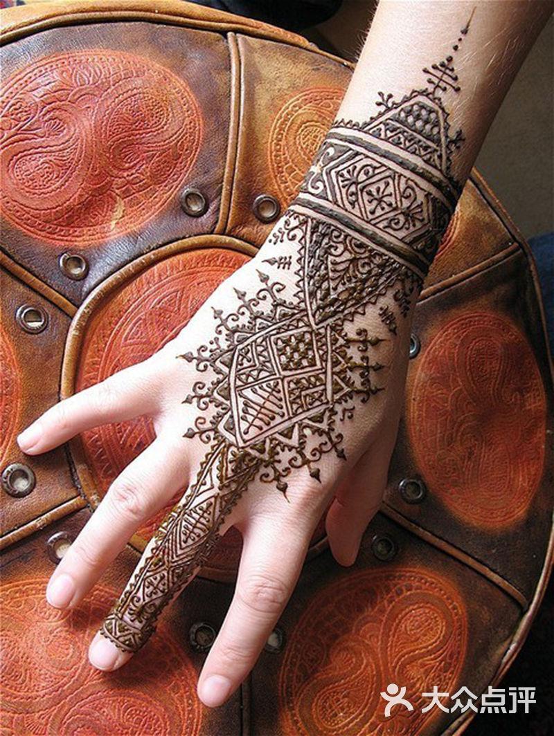 【印度海娜手绘-结婚套餐】-唯橼婚纱造型-大众点评网