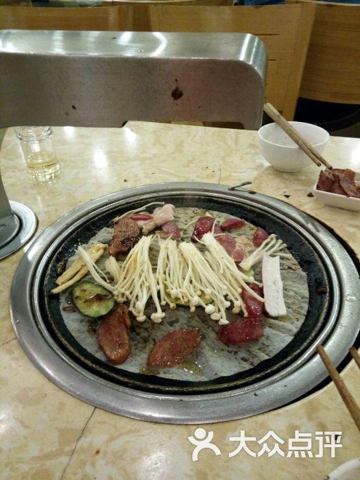 美图片韩式自助超市文字-美食-庐山区之旅-大众美食烤肉食堂的图片