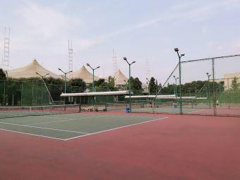 四川大学江安校区-网球场