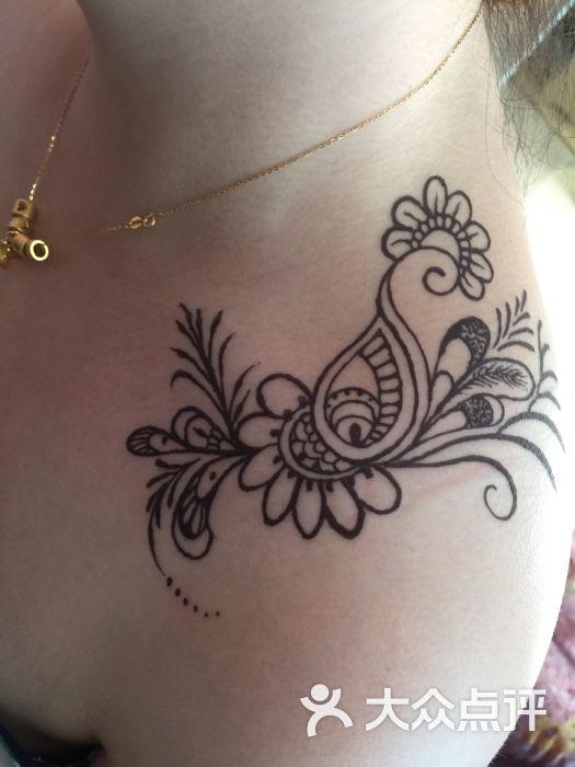 o-tattoo海娜手绘-图片-杭州丽人-大众点评网