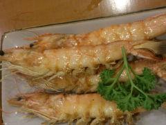银子日本料理铁板烧(人民广场店)的烤虾