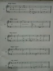 《童话》,看着他弹的好简单,好好听啊,于是我就下定决心要把钢琴学好.图片