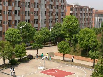 中南林业科技大学涉外学院篮球场