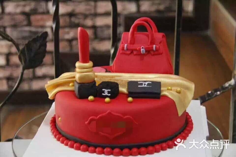 zzcake法式烘焙手工定制翻糖蛋糕 爱马仕香奈儿图片 - 第74张