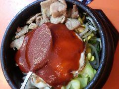 五花肉石锅拌饭-韩国快餐