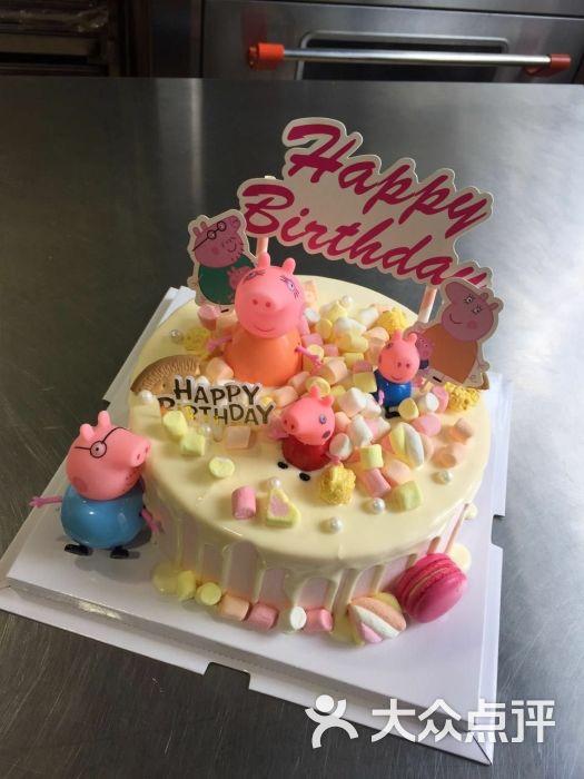 许个愿吧创意手工烘焙卡通芝士淋面蛋糕图片 - 第6张