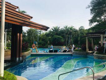 惠州龙门富力希尔顿度假酒店游泳池