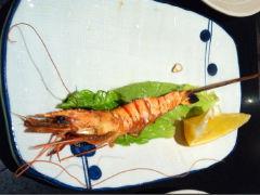 银亭的烤虾