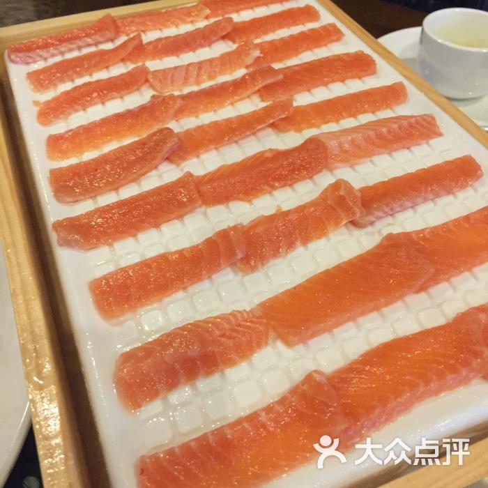 徐记三文鱼美食城-金鳟鱼刺身美食-资兴市图片自流井老街美食图片