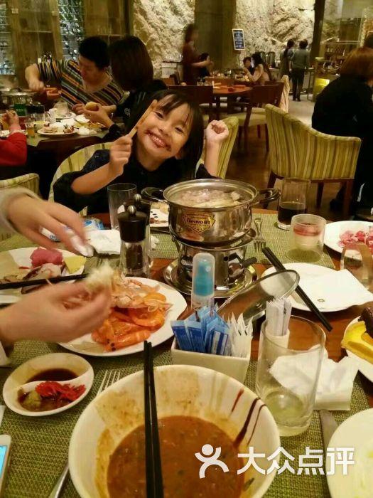 天津香格里拉大酒店自助餐厅的点评