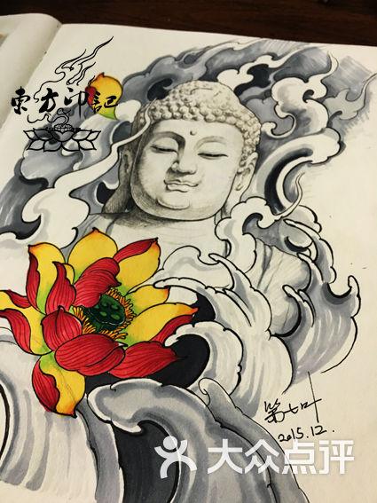 大日如来纹身手稿——北京最好的纹身店