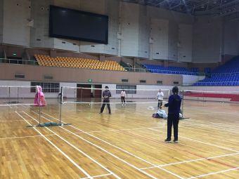 上海大學羽毛球館