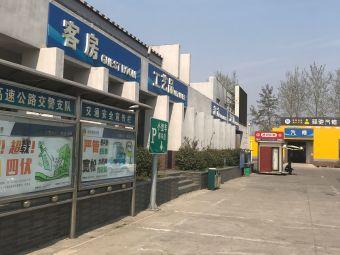 周村服务区-停车场