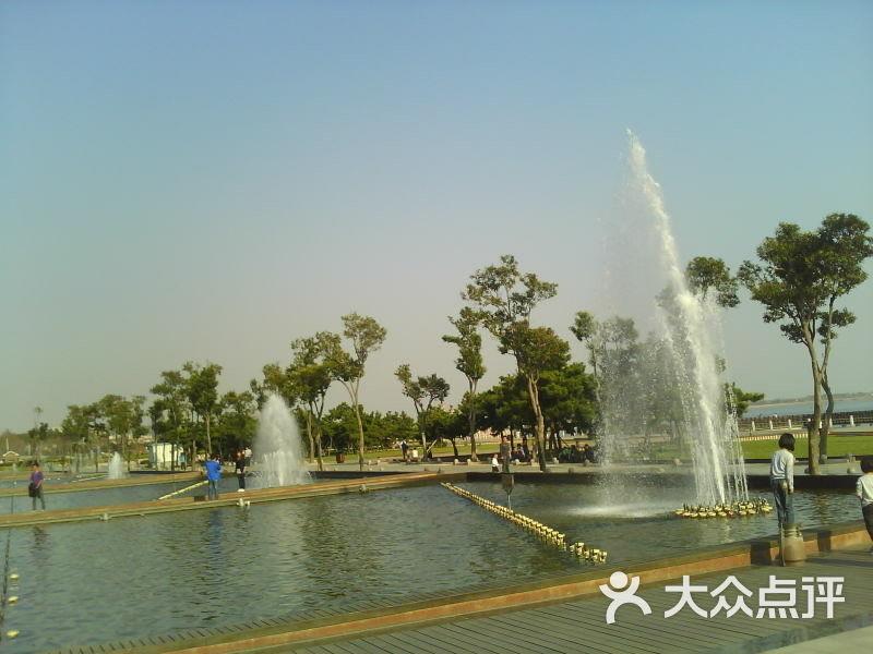 唐岛湾公园-喷泉图片-青岛周边游-大众点评网