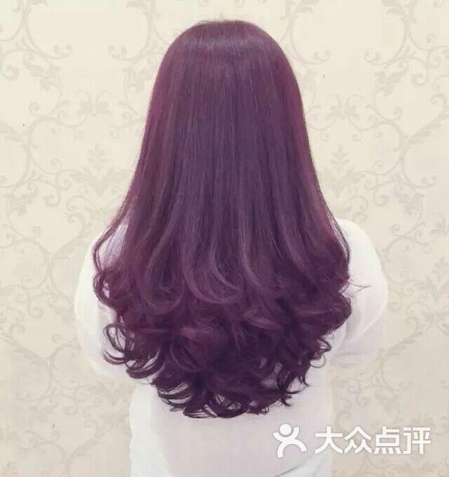 沙宣美发锁骨发图片-北京美发-大众点评网图片
