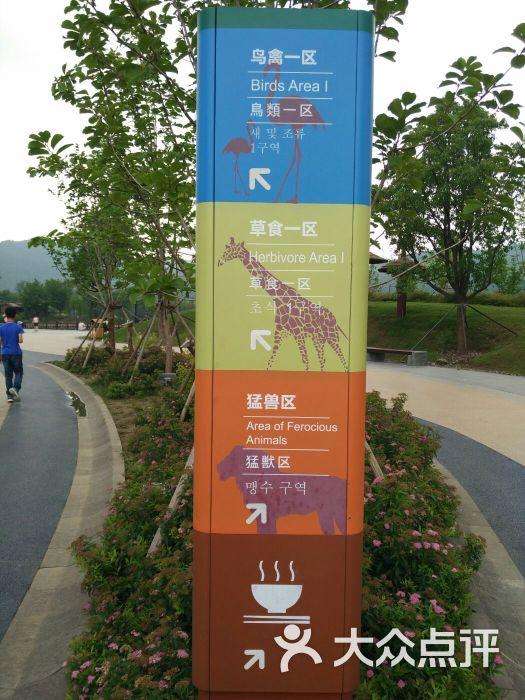 上方山森林动物世界-指示牌图片-苏州周边游-大众点评