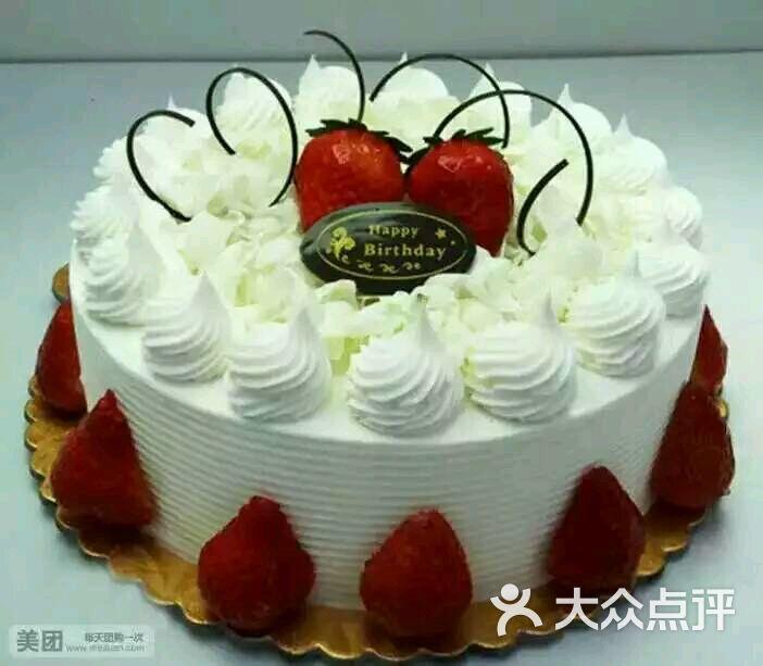 八寸蛋糕图片